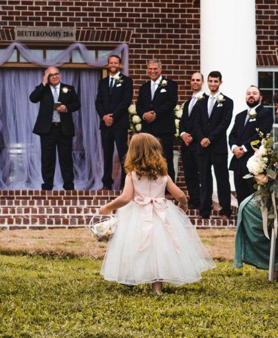 Dzieci kontra przyjęcie weselne