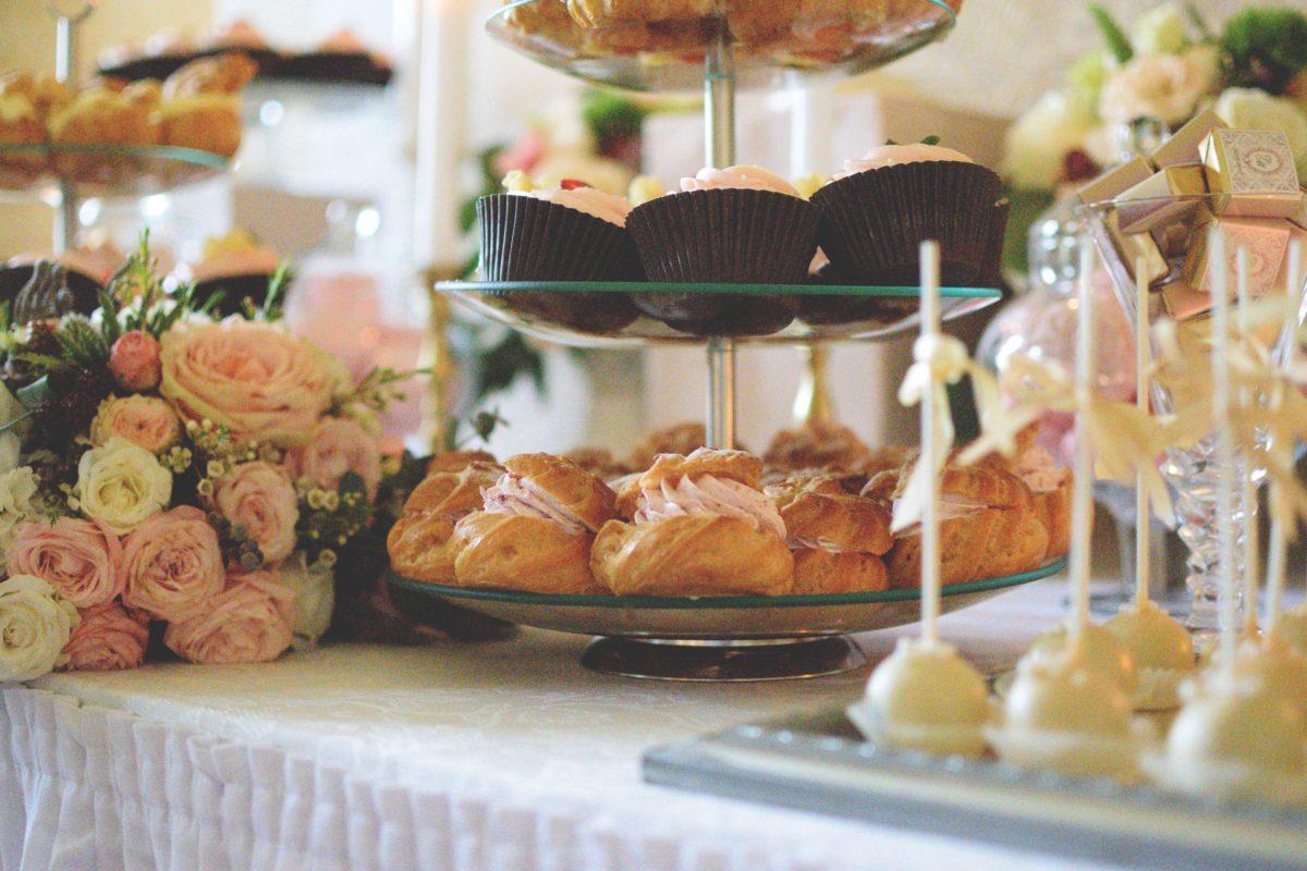 Słodkości na weselny stół