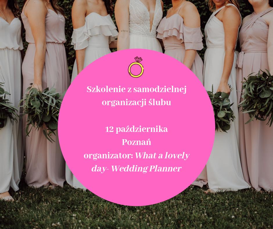 Szkolenie z samodzielnej organizacji ślubu