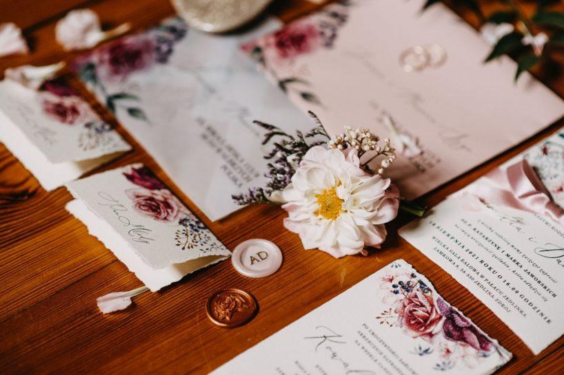Pastelowa papeteria ślubna firmy Decoris, What a lovely day Wedding Planner Poznań